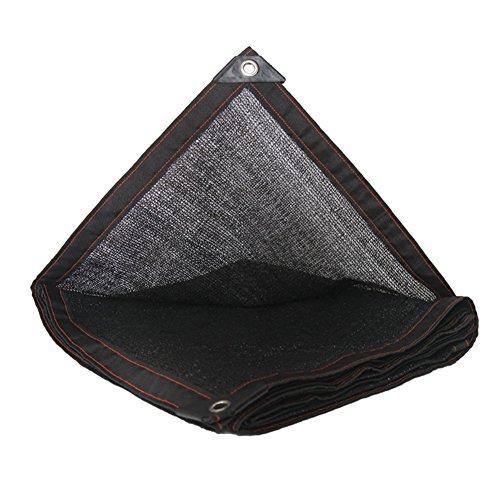 YYHSND Sunblock Shade Net Enredado de Lona Polietileno Invernadero Jardín Flor Planta Aislamiento Net Lona alquitranada (Color : Black, Size : 5x6m)