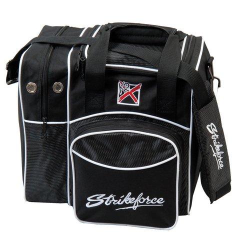KR Bowlingtasche Strikeforce Flexx 1 Handtasche Bowling-Tasche, Schwarz