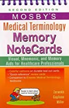 Mosby's Medical Terminology Memory NoteCards[ MOSBY'S MEDICAL TERMINOLOGY MEMORY NOTECARDS ] by Zerwekh, JoAnn (Author) Mar-31-11[ Paperback ]