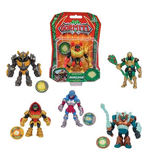 Giochi Preziosi Gormiti S2 8 Cm Ass.6 Personaggi E Playset Maschili, Multicolore, 8056379082095