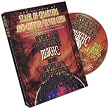 Magicaplanet DVD The Secrets of Stack of Quarters