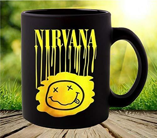 Nirvana Smiley Face Coffee Mug