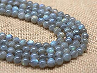 "Jewel Beads Natural Beautiful jewellery 8MM106 8mm A grade labradorite round gemstone loose beads 16""Code:- JBB-8759"