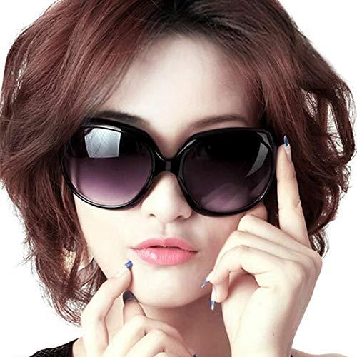 Jackie Onassis-Brille mit Etui, Graphitweiß