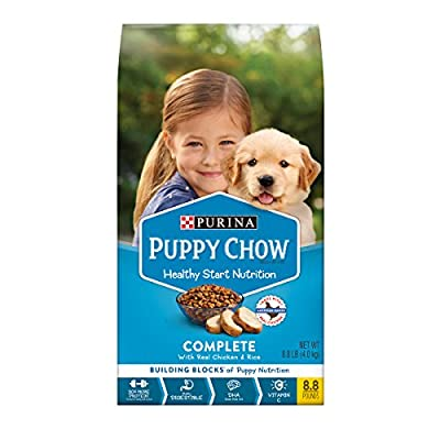 Purina Puppy Chow High Protein Dry Puppy Food, Complete With Real Chicken - 8.8 lb. Bag (10017800404553) by Purina Dog Chow