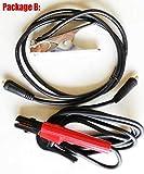 YITEJIA Hochwertige professionelle RU Lieferung 250A 110-250V Compact Mini MMA Schweißer Inverter ARC Schweißgerät Stock-Schweißer (Color : B)