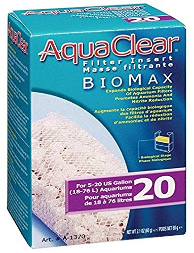 Aquaclear Biomax, 20-Gallon, weiß