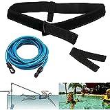 Imbracatura da nuoto per piscina, cintura regolabile per bambini/adulti, resistenza al nuo...