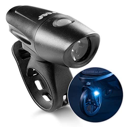 reer Light&Go - Luz para cochecito de bebé (USB, desmontable, impermeable, recargable)