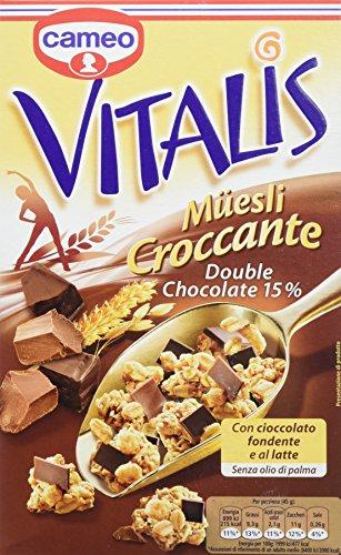Cameo Vitalis Croccante Con Cioccolato Fondente e al Latte, 300 Gr - [confezione da 8]