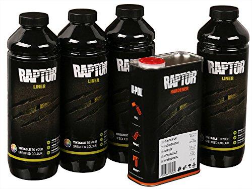 UPOL RAPTOR schwarz Pick Up Transportflächen Fahrzeug Beschichtung schwarz 3,79 Liter