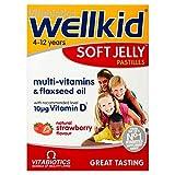 Vitabiotics Wellkid Soft Jelly Strawberry - 30 Pastilles