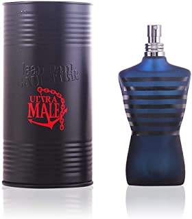 Ultra Male Intense by Jean Paul Gaultier for Men Eau de Toilette 125ml