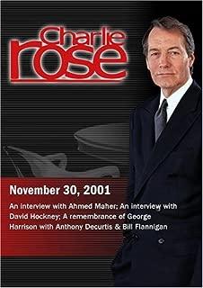 Charlie Rose November 30, 2001