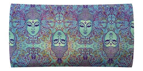 NativOrganics Ögonkudde för yoga och meditation, Buddha tema satin ögonväska