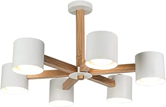 Minimalist Chandelier Bedroom Living Room Dining Room Lighting Ceiling Light - Black/White - Now Simple Style Pendant Ligh...