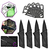 10 Pack Card Tool for Him, Male Valentines Gifts Credit Card Multi Pocket Tool, Wallet Knife Survival Multitool with Man Bottle Opener, Useful Keychain Gift Under for Travel, Fishing and Stocking