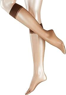 Falke Womens Shelina Ultra-Transparent 12 Denier Knee High Tights - Coffee Brown