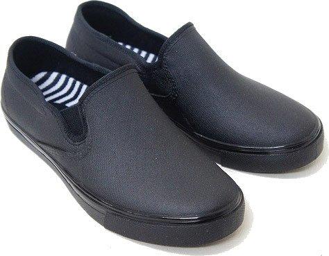 長靴 スリッポン スニーカー レインシューズ レディース シューズ 濡れない 防水 msnb2500[LL(24.0〜24.5cm)×ブラック]
