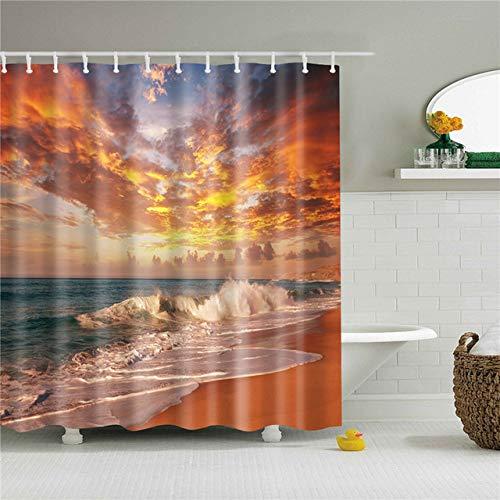 cortinas ducha paisaje