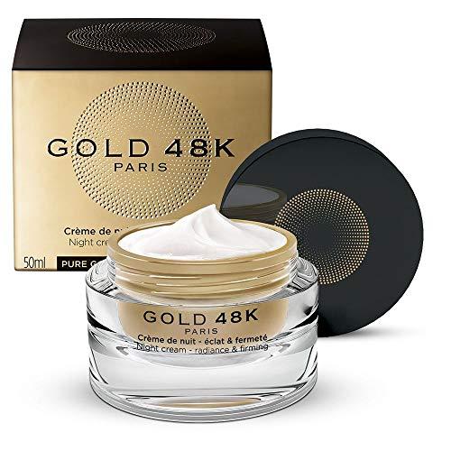 GOLD 48K - Crema notte luminosità e compattezza - Oro Puro + Acido Ialuronico