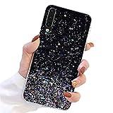 L-FADNUT for Samsung Galaxy A40 Glitter Case Cute Sparkle