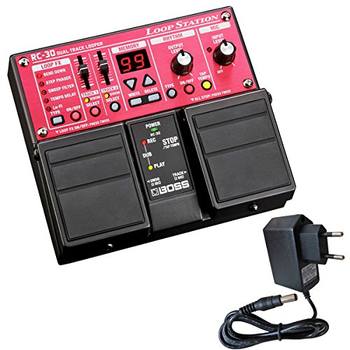 Boss RC-30 Dual Loop Station Pedal + keepdrum Netzteil 9V