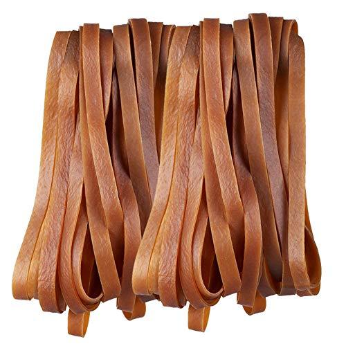 Gummibänder, 35 Stück, groß, strapazierfähig, elastisch, für Büro zu Hause, Schule, stark, langlebig, breit für Industrie-