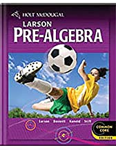 Holt McDougal Larson Pre-Algebra: @Home Tutor CD-ROM