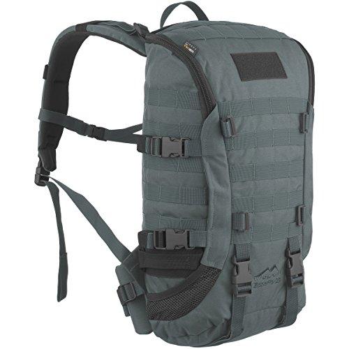 WiSPORT® ZIPPERFOX 25 litros Mochila | Militar | MOLLE | Daypack | Aire libre | Senderismo | Cordura, camuflaje:graphite