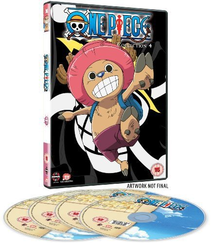 One Piece (Uncut) Collection 4 (Episodes 79-103) [Region 2] [UK edition] [DVD [Reino Unido]