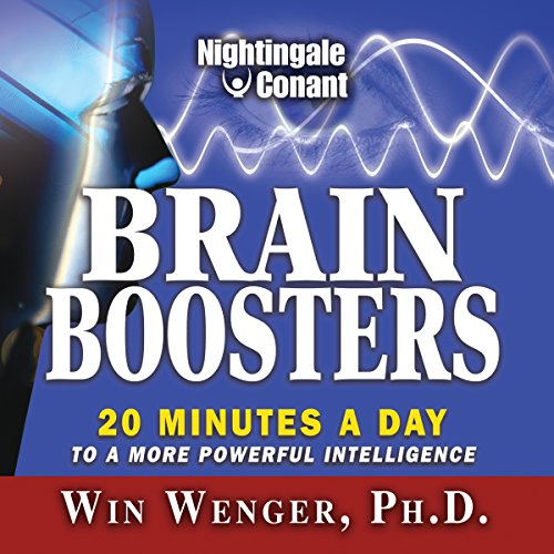 Brain Boosters audiobook cover art