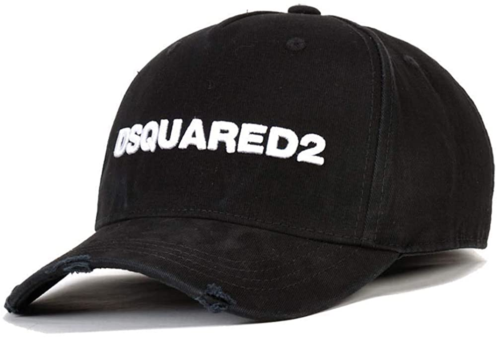 COOLGUY Dsquared2 Cotton Super special price Baseball Long Beach Mall Caps Hats Solid Letter Pattern