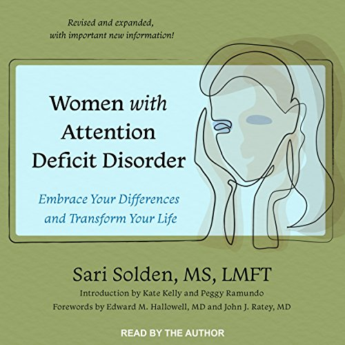 Women with Attention Deficit Disorder audiobook cover art
