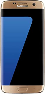 Samsung Galaxy S7 EDGE 32GB Verizon & Unlocked GSM Smartphone - Gold (U.S. Version)