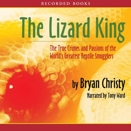 The Lizard King audiobook cover art