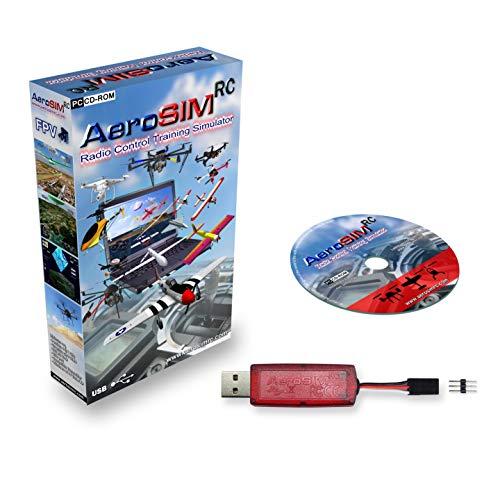 Simulador Drones AeroSIM RC | Simulador Entrenamiento Piloto de Dron | Avion Helicoptero Multirrotor RPA | Flight Training Drone Simulator | Wireless