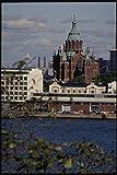 078022 Uspensky Cathedral Helsinki A4 Photo Poster Print