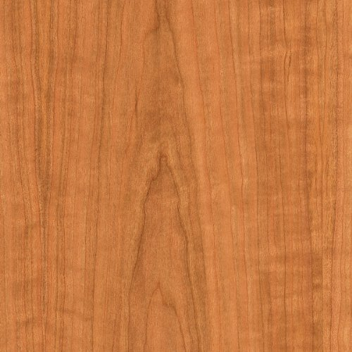 """WOOD-ALL Cherry Wood Veneer Sheet, 'A' Grade Plain Sliced/Flat Cut, 24"""" x 96"""" with a 10 Mil Paperback – Easy Application for Any Restoration"""