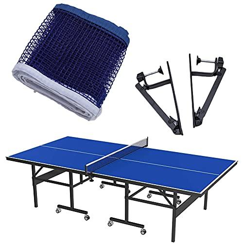 Yaasier Rete da Ping Pong, Professionale Tennis da Tavolo Racket Set, Rete Ping Pong da Tavolo con Vite di Bloccaggio, Regolabile Rete per attività All'aperto al Coperto