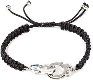 Saicowordist Creative Manuell Weben Bracelet de Menottes Personnalisable Mode Paire de Bracelets Bijoux Cadeau Chaud
