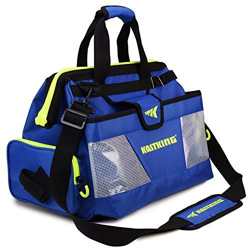 KastKing Fishing Tackle Bag, Fishing Bags, Waterproof Fishing Gear Bag, Large Size, TB71, 17.5 x 10 x 9.5 Inches