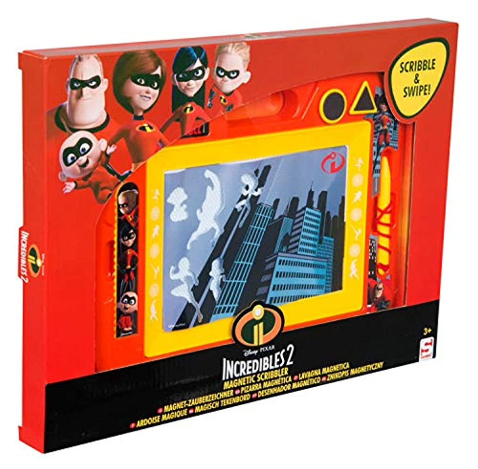 Sambro The The Incredibles Magnetic Scribbler-Educational Toy-Suitable for Children from 3 Years of Age, Multicolour