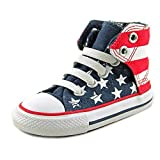 Converse Infants Chuck Taylor Easy Slip On Sneakers (9 M US Toddler) Red/White/Blue