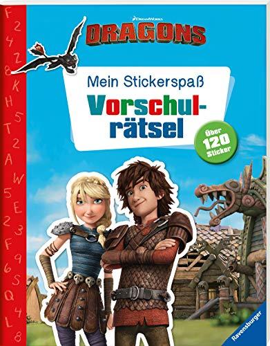 Mein Stickerspaß Dreamworks Dragons: Vorschulrätsel: Über 120 Sticker