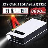 AMANBO Car Battery Jump Starter 8800mAh Portable Jump Pack, 12V Auto Battery Booster