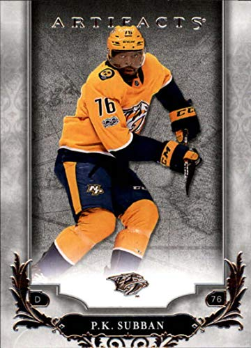 2018-19 Upper Deck Artifacts Hockey #2 P.K. Subban Nashville Predators