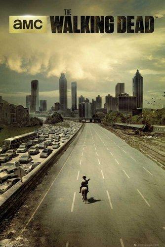 Walking Dead, The - City - Filmposter Kino Movie Gruselfilme - Grösse 61x91,5 cm