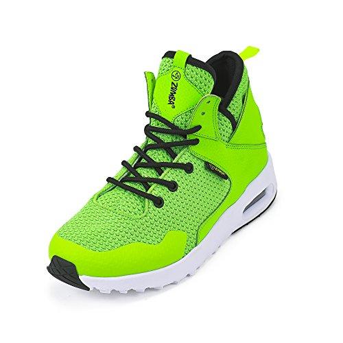 Zumba Footwear Zumba Air Classic Remix Sportliche High Top Tanzschuhe Damen Fitness Workout Sneakers, Green, 42 EU