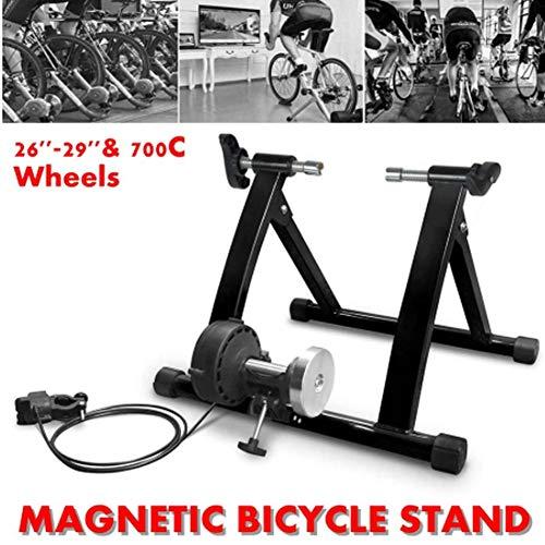 Bike Trainer Fietstrainingsplattform Indoor training thuis 7-speed fietstrainer magnetische weerstand fietstrainer racefiets mountainbike fietstrainer roller is geschikt voor indoor fitnesstraining thuis